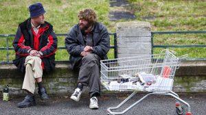 Бедность бомжи бичи