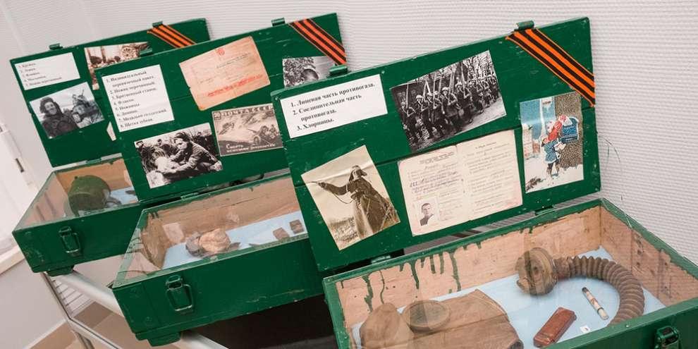Выставка добровольческого танкового корпуса