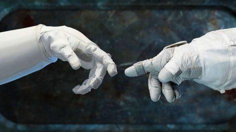 космос космонавты стыковка музей руки