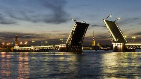 Санкт-Петербург разводные мосты