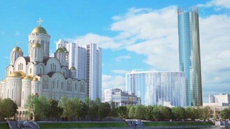 Храм Святой Екатерины у театра драмы