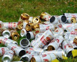 мусор свалка банки алюминий