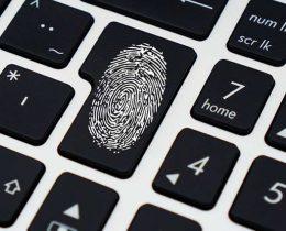 пароль отпечаток пальца